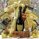 Gourmet Champagne Gift